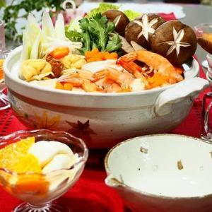 魚と野菜がたっぷり♪塩ちゃんこ鍋♪