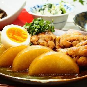 ☆鶏手羽と大根のこっくり煮&きのこのレンジ酒蒸し☆