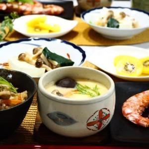 ☆鶏ごぼうの炊込みごはん&茶碗蒸し☆