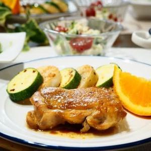 ☆チキンソテー バターしょうゆ&ブロッコリーとトマトの白あえサラダ☆