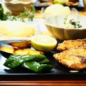 ☆鶏ごぼうの炊き込みごはん&ハマチの竜田揚げ☆