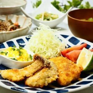 ☆白身魚のフライ タルタルソース添え&豚こまとごぼうの炒め煮☆