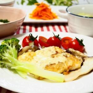 ☆白身魚のマヨネーズ風味焼き&きのこのソテー☆