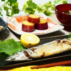 ☆さんまの塩焼き&豚バラ白菜☆