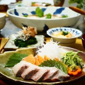 ☆豆腐と豚ミンチのレンジ蒸し&お刺身☆