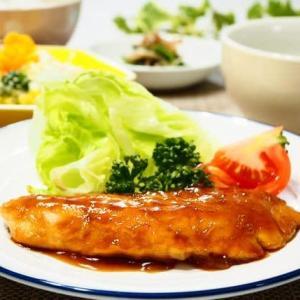 ♪秋鮭の照り焼き&えびとブロッコリーのデリ風サラダ♪