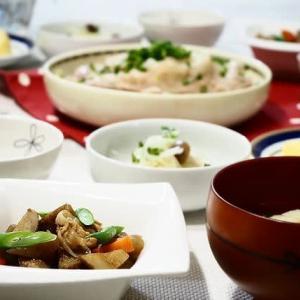 ☆豚肉ともやしのレンジ蒸し&ごぼうの炒め煮☆
