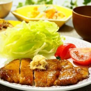 ☆豚ロースのダブルしょうが焼き&卵マカロニサラダ☆