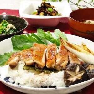 ♪鶏の照り焼き丼&菜の花とツナのサラダ ♪