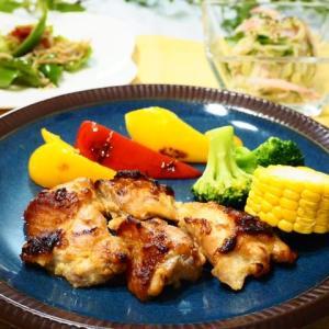 レンジでお手軽☆鶏もも肉の辛子みそ焼き☆