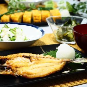 ♪漁港食堂でランチ&アジの干物で晩ご飯♪