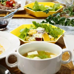 ☆豚しゃぶと夏野菜のジンジャードレッシングサラダ&ツナピラフ☆