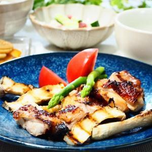♪鶏肉のポン酢しょうがグリル&豆腐ときゅうりの梅サラダ♪