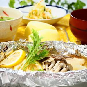 ☆鶏ごぼうの炊き込みごはん&白身魚のレモン包み焼き☆