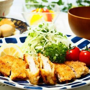 ☆薄切り肉の重ねかつ&玉ねぎとパプリカのレンジピクルス☆