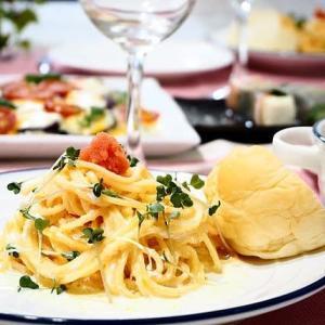 ♪明太クリームスパゲティ&なすのラザニア風♪