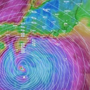 台風19号進路予想 【ウインディより】