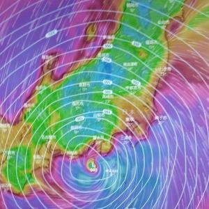 怖かった台風19号 2019.10.12