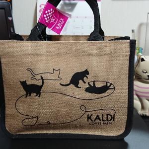 カルディのネコの日バッグ