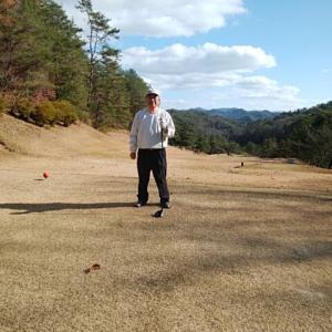 今年最後のゴルフへ