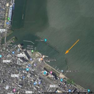ポイントマップ公開(プレミアムコンテンツ)>>南湖南端、大津港のミオ筋