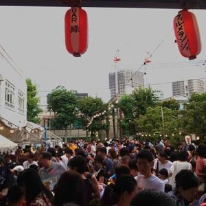 記事爆走!盆踊り!ラジオ体操!歌舞伎座でミニ座布団教室!