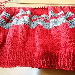 編み物ばかりしています^^^