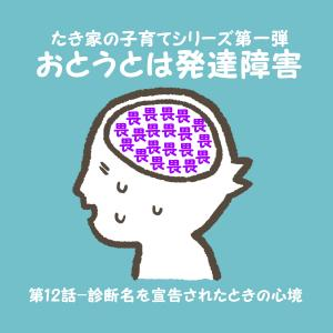 【おとうとは発達障害】#12 診断名に囚われ、脳がオーバーヒート・・・。