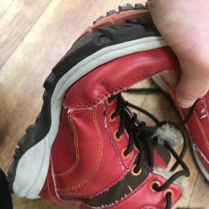 久しぶりに履く靴は必ずチェックしてください!☆