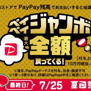 夏のPayPay祭グランドフィナーレ開催☆