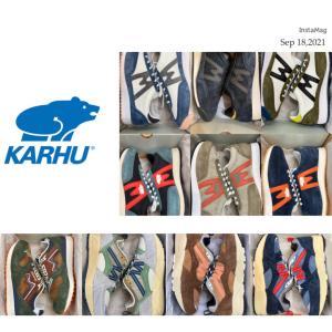 引き続き開催☆「KARHU カルフ」Autumn Fair☆