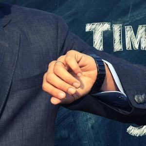 ●明日は9月-就活時計をリアルに合わせよう
