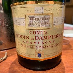 コント・ド・ダンピエール@Champagne