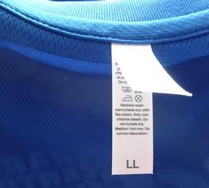 ICC Tシャツの洗濯