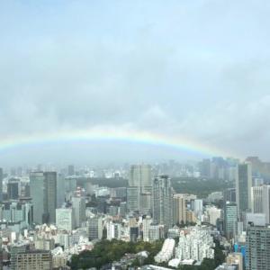 またまた奇跡の虹が現れた!