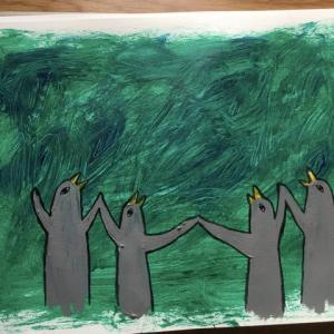 絵を描いた
