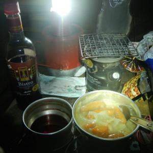 2020年11月28日ー11月29日 藤原岳でシチューを食べる研究