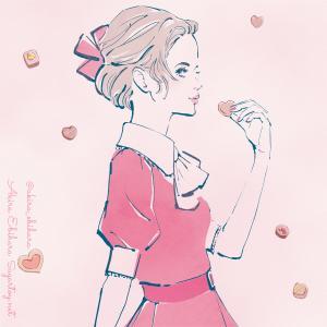 バレンタインデーなイラスト(遅刻 )