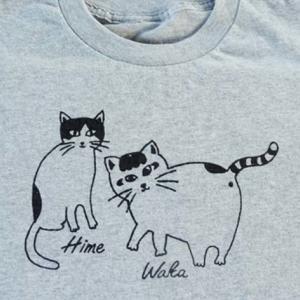 にゃんこTシャツ…