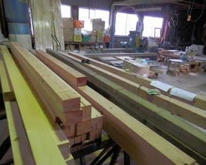 山田建築所様 増築 木工事の応援へ行きました