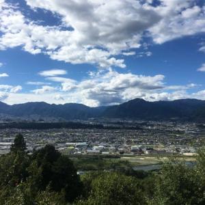 飯田市の展望景色