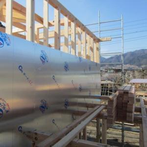 エアサイクルの家 新築工事 建て方