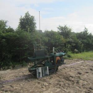 地盤調査は必ず行って、地盤沈下が無いよう施工します ・・・住宅新築