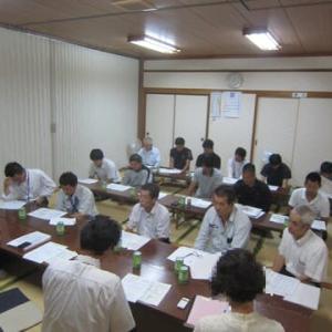 中平の家 新築工事 第1回全業者工程会議 ・ 顔合わせ会