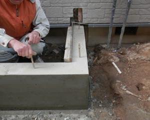 水廻りの増改築リフォームでの、木工事施工 ・・・ 増築 大工