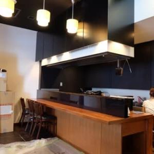 鉄板焼Dining 銀座ハンバーグ様 新装工事での木工事模様です