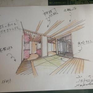 鼎中平の家 新築工事設計計画 ・・・ エアサイクルの家 注文住宅
