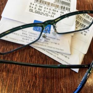 術後の近業矯正眼鏡