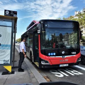 バルセロナ市内特急バス運行