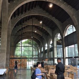 海洋博物館のカフェテラス